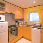 Kitchen at Low Briery holiday apartment in the Lake District