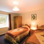 Twin bedroom at Low Briery holiday apartment in the Lake District