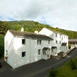 Building exterior at Low Briery holiday apartment in the Lake District
