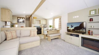 Static holiday caravans in Keswick, the Lake District