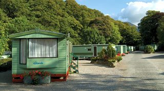Caravans lake district