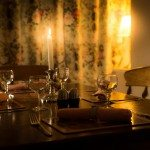 Dining at Low Briery holiday cottages in the Lake District