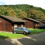 Exerior of Low Briery holiday lodges in the Lake District
