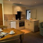 Kitchen at Low Briery holiday lodges in the Lake District