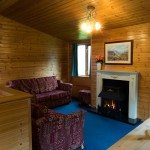Cosy lounge at Low Briery holiday lodges in the Lake District