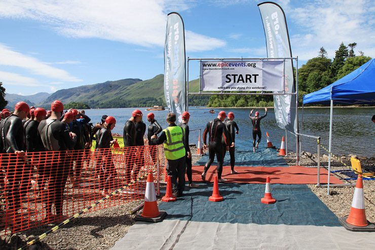 Derwentwater Epic Swim 2017
