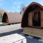 Camping Pod in Keswick the Lake District
