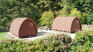Camping pods lake district