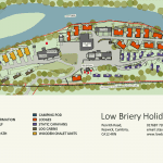 Low Briery Holiday Park map 2020