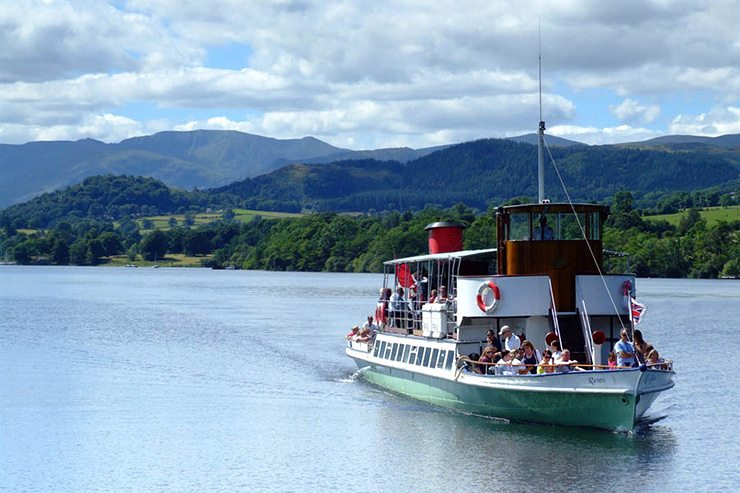 Ullswater Steamers - Things to do Glenridding