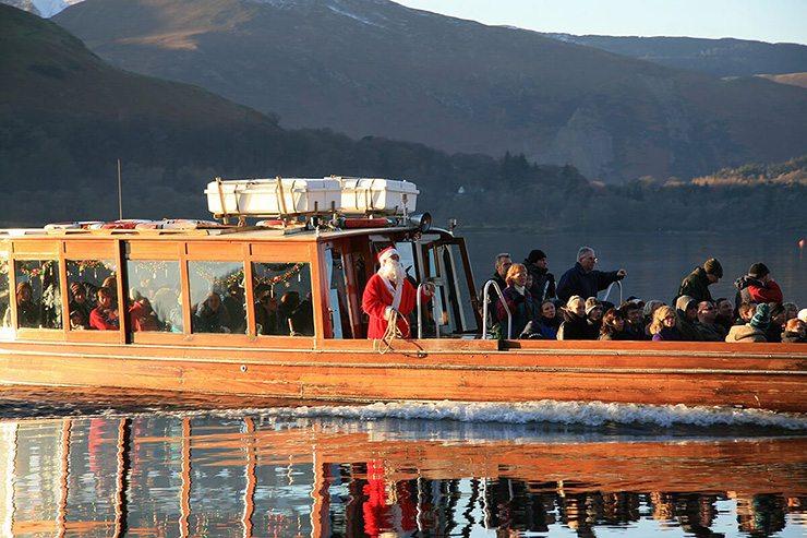 Keswick Launch Father Christmas Derwentwater Cruise