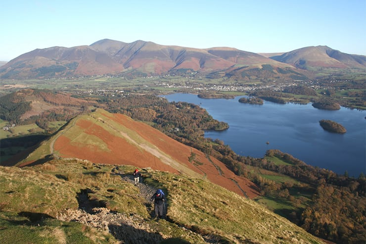 Catbells Walk, Keswick, Lake District