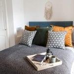 Double bedroom - Pathfinder Tor Lodge